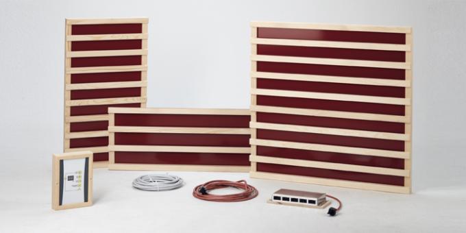 sauna und infrarot kombination infrarotstrahlen in der sauna. Black Bedroom Furniture Sets. Home Design Ideas