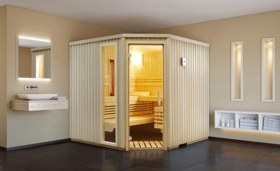 sauna modelle aktuelle saunen von infraworld beratung von peter feistle. Black Bedroom Furniture Sets. Home Design Ideas